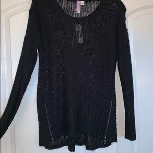 Sweaters - Black Knit Sweater